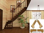 Недорогие готовые деревянные лестницы.