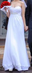 Греческое свадебное платье!!!!