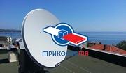 Спутниковое ТВ,  ТриколорТВ,  НТВ+